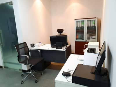 Office for Rent in Deira, Dubai - Direct from the owner!! Separate fitted office with, free DEWA, WIFI near to the metro station