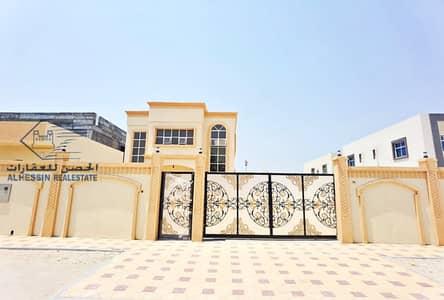 فیلا 5 غرف نوم للبيع في مشيرف، عجمان - For sale, Musheiref, new villa directly from the owner, super deluxe finishing