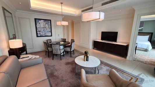 فلیٹ 2 غرفة نوم للايجار في وسط مدينة دبي، دبي - Beautiful and Luxurious 2 Bedrooms I Magnificent View