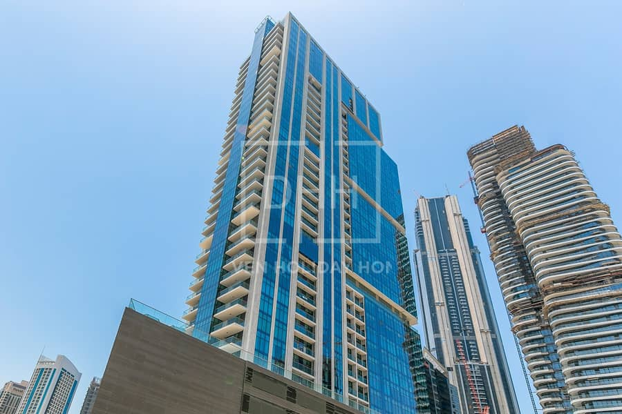 24 Elegant 1BR+Study Mada Residences Downtown