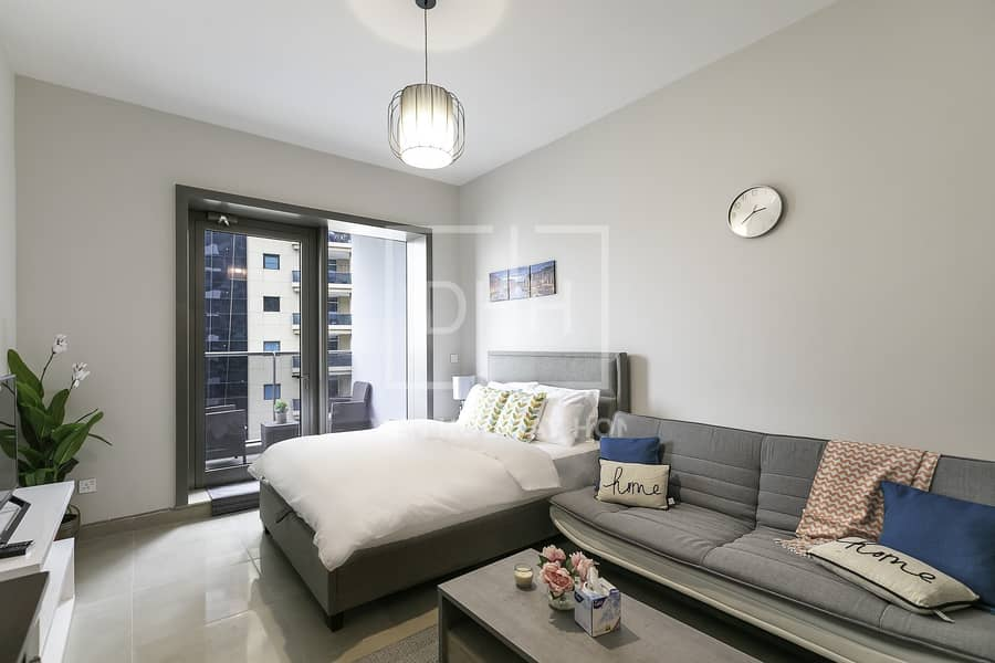 2 Studio With Marina View in Sparkle Tower