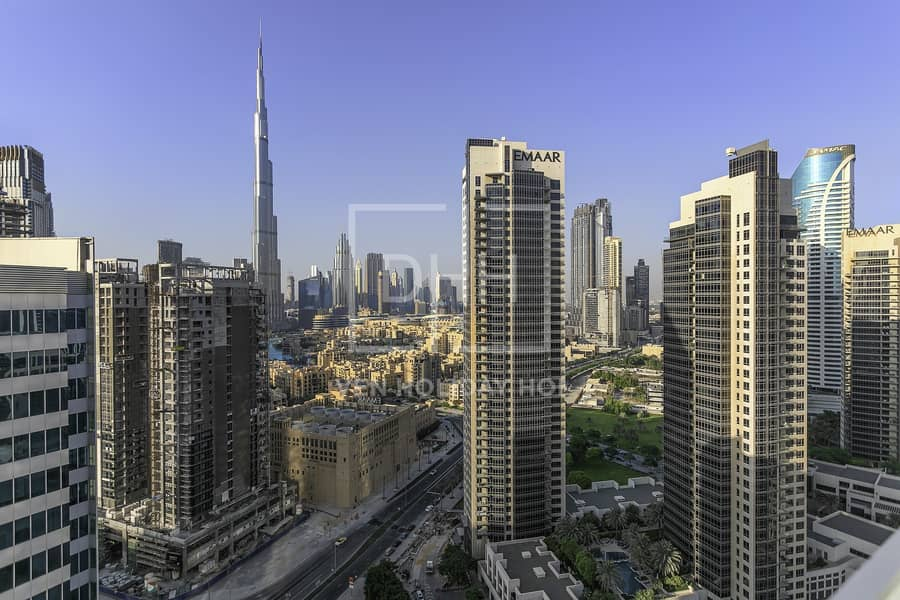 2 Superb Studio Burj Khal View