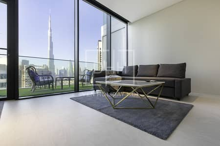 Superb Studio Burj Khal View