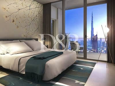 2 Bedroom Apartment for Sale in Downtown Dubai, Dubai - 30% Post Handover Payment Plan | High Floor