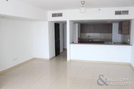 فلیٹ 1 غرفة نوم للايجار في أبراج بحيرات الجميرا، دبي - 1 Bed | Unfurnished | Multiple Cheques