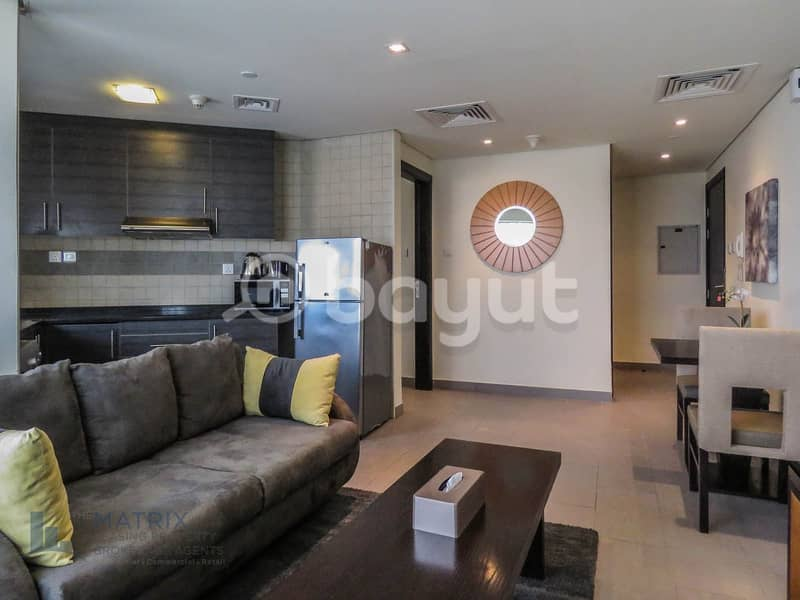 Great Offer! | Fully Furnished One bedroom in The Bridge