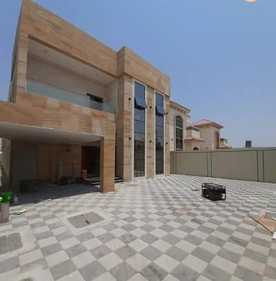 6 Bedroom Villa for Sale in Al Rawda, Ajman - Exclusively from the owner directly and without an advance payment to the bank for sale, a villa with personal construction and finishing near the asphalt street in Al Mowaihat behind Al Hamidiyah Center near Emirates Road and Sheikh Mohammed Bin Zayed St