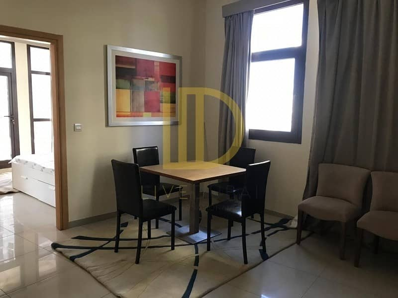 Furnished 1 Bed in Lincoln Park Arjan with Balcony  HL