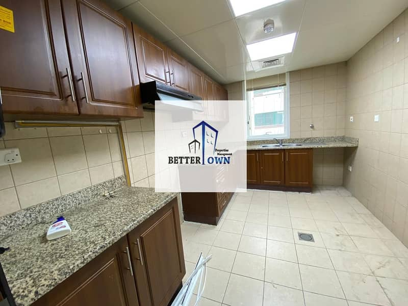 25 New Building! @85K!   3 BHK   HUGE KITCHEN With Balcony.