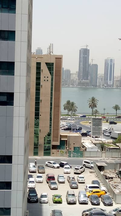 2 Bedroom Apartment for Rent in Al Khan, Sharjah - No deposite 1 month free Specious 2 bhk Balcony Open view/see view close to adnoc pump al khan area