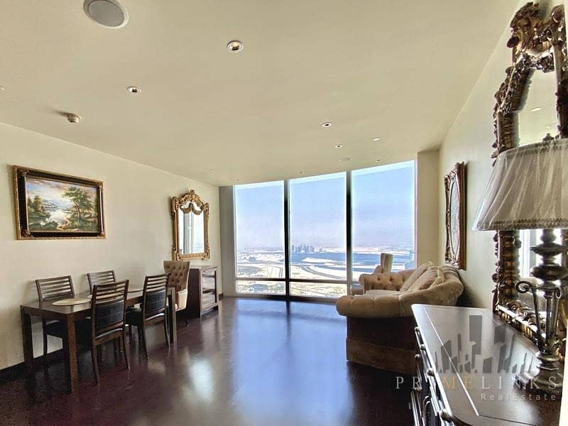 2 Stunning Fountain View One Bedroom Furnished