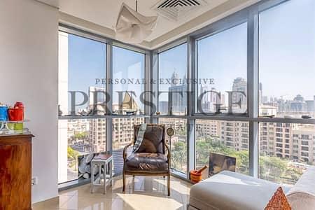 شقة 1 غرفة نوم للايجار في ذا فيوز، دبي - 1 Bed + Study | Panoramic view | Golf Tower