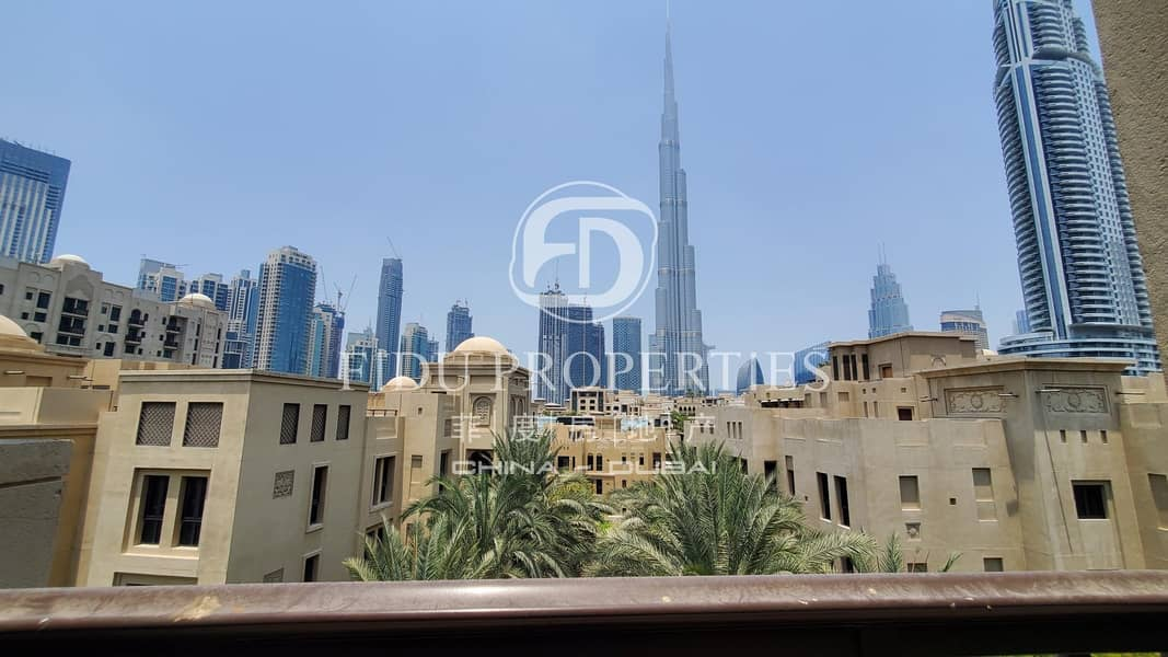 Beautiful 1 Bedroom In Yansoon Direct Burj View