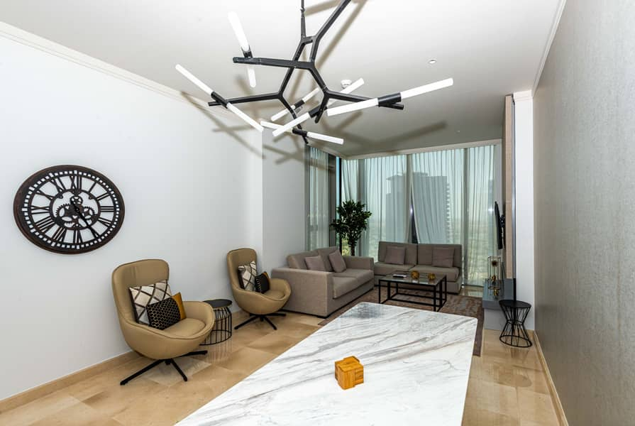 2 Stylishly Furnished  2 Bed  | No Commission
