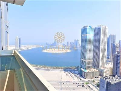 شقة 2 غرفة نوم للايجار في التعاون، الشارقة - Sea View 2BHK | 45 Days Free | 6 Cheques