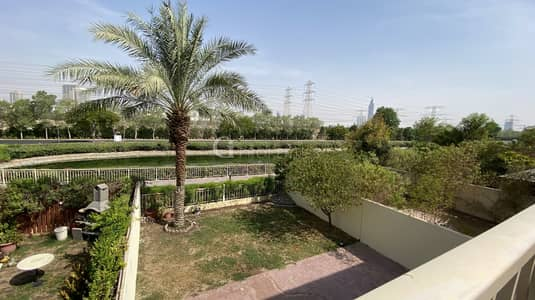 3 Bedroom Townhouse for Rent in The Springs, Dubai - A Full Lake View 3M Villa | The Springs 9 |