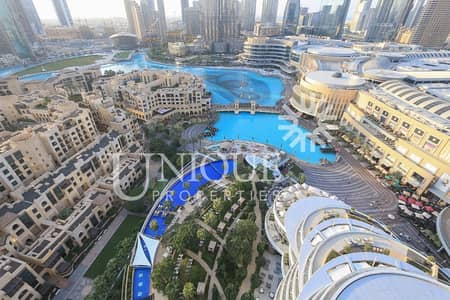 2 Bedroom Flat for Sale in Downtown Dubai, Dubai - Spacious 2Bedroom | Burj Khalifa & Fountain view
