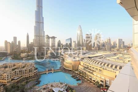 فلیٹ 2 غرفة نوم للبيع في وسط مدينة دبي، دبي - Spacious 2Bedroom | Burj Khalifa & Fountain view