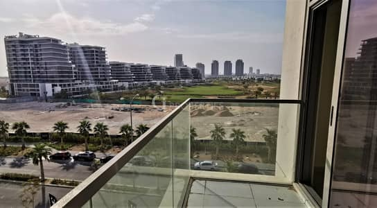 شقة 1 غرفة نوم للايجار في داماك هيلز (أكويا من داماك)، دبي - Golf and Pool View | Spacious Layout | Wooden finishing