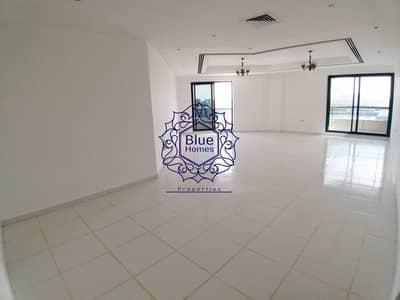 3 Bedroom Apartment for Rent in Bur Dubai, Dubai - HuGe Size 3BHK with Balcony Close to BurJaman Metro
