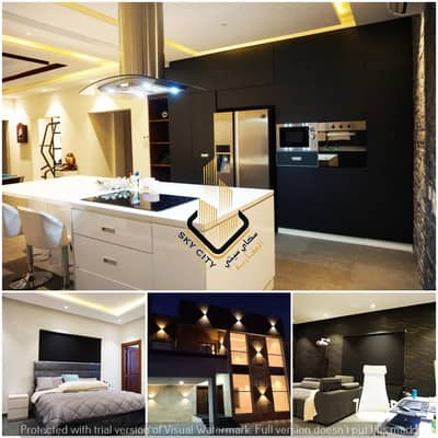 5 Bedroom Villa for Sale in Al Mowaihat, Ajman - 5 Master rooms, a council, two halls, a kitchen, and a maid's room. Personal finishing at an attractive price