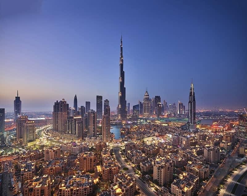 2 DOWNTOWN DUBAI/BURJ KHALIFA VIEW