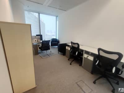 Office available with easy payment mode! 3000AED monthly!