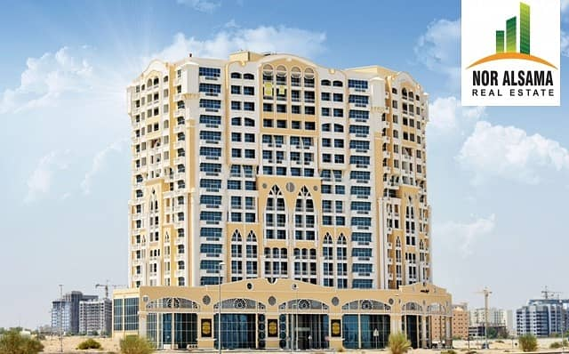 24 Exclusive Deal!! Chiller free!!Studio with balcony for Rent!!23 by 4 chqs!!Dubai Residence Complex