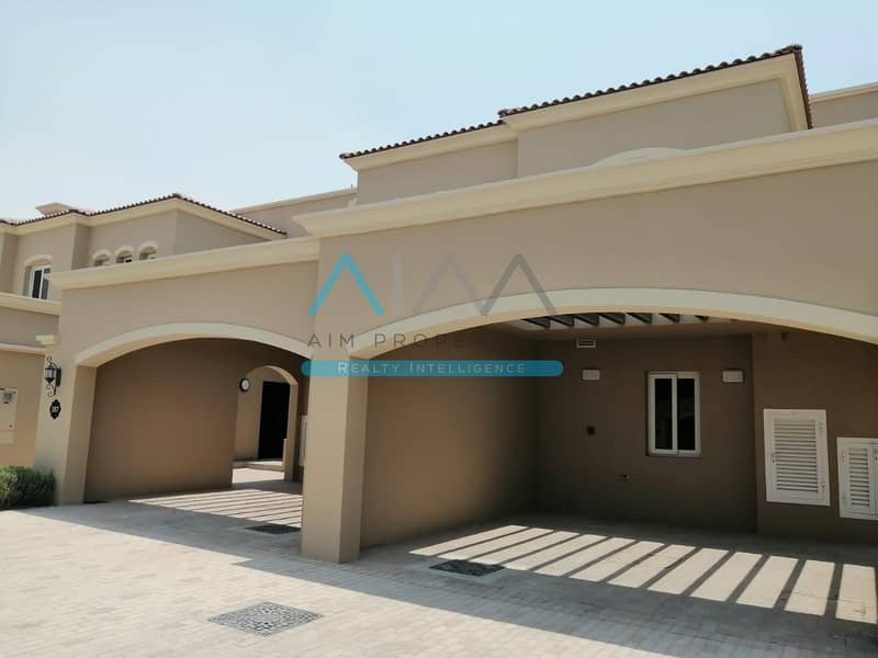 Single Row Corner 3BHK+Maids in CASA DORA