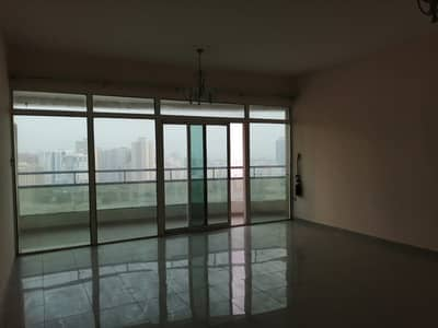 2 Bedroom Flat for Sale in Ajman Downtown, Ajman - Full Sea view Vacant 2 BHK with parking for sale in Horizon Tower