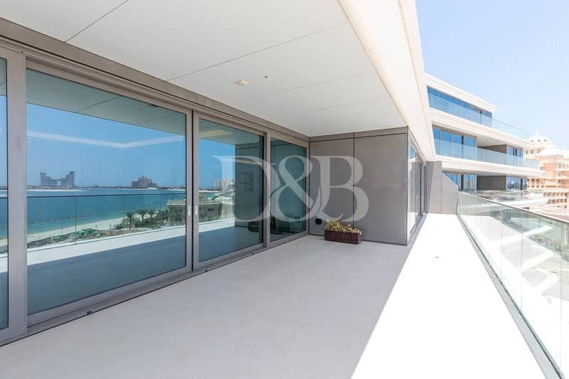 2 Garden Residence | Spacious 3 Bedroom| Palm View