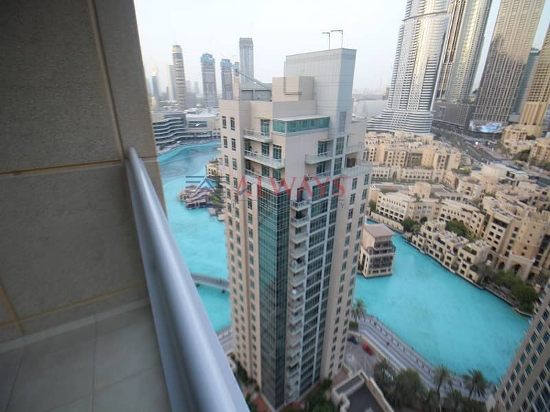 2 Spacious 1BR | With spectacular Fountain Views | High Floor