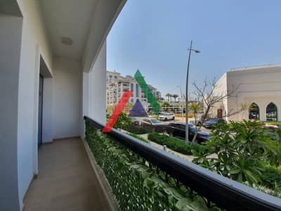 1 Bedroom Apartment for Rent in Yas Island, Abu Dhabi - 2 Payments Ground Floor 1 Bedroom with Balcony