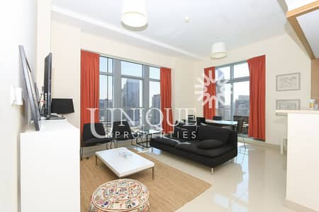 1 Bedroom Apartment for Sale in Downtown Dubai, Dubai - Rented 1BR + Study in Claren | Fully Furnished