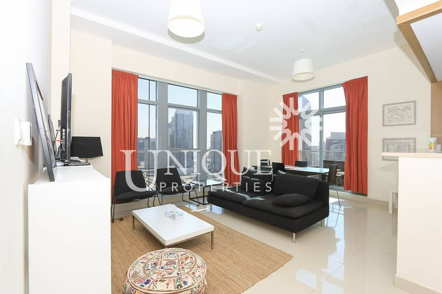 Rented 1BR + Study in Claren | Fully Furnished