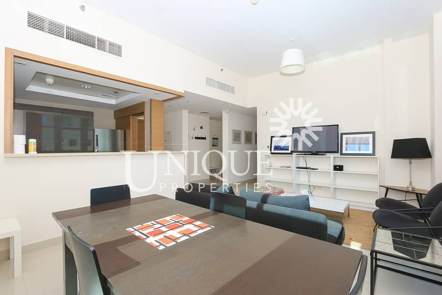 2 Rented 1BR + Study in Claren | Fully Furnished