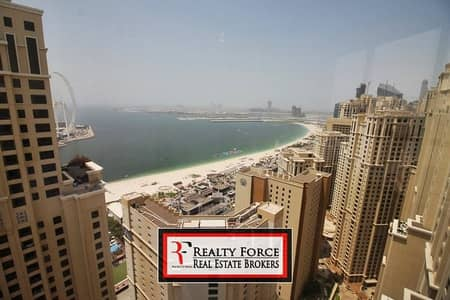 شقة 2 غرفة نوم للايجار في جميرا بيتش ريزيدنس، دبي - ONE OF A KIND | FULL SEA VIEW | BEST LANDLORD