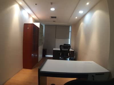 Office for Rent in Deira, Dubai - Independent and Separated Office-Fully Furnished-All Inclusive-No Commission