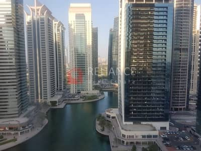 Office for Rent in Jumeirah Lake Towers (JLT), Dubai - JLT FULLY FITTED OFFICE NEAR METRO