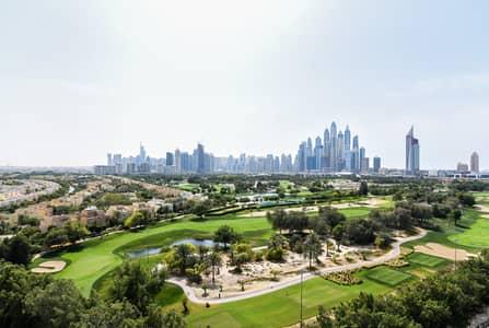 بنتهاوس 3 غرف نوم للايجار في ذا فيوز، دبي - Amazing Penthouse With Roof Top Golf Course View
