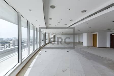 Office for Rent in Deira, Dubai - Near Metro | Full Floor | Fitted with Balcony|
