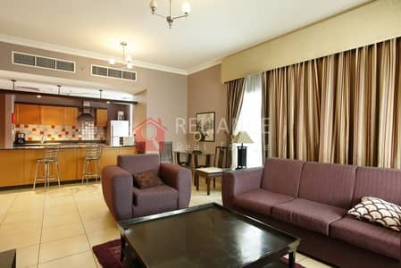 2 Bedroom Hotel Apartment for Rent in Al Barsha, Dubai - ELEGANT 2BHK | BALCONY | FULLY FURNISHED