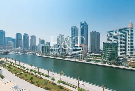 شقة 2 غرفة نوم للايجار في دبي مارينا، دبي - Vacant with Full Marina and sea View|2 Parkings Unfurnished