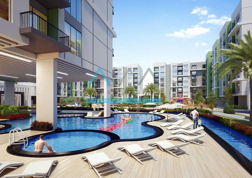 10 Pay 1% For 1 Bed Room - Gauranted Return - Post Handover PP
