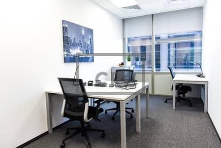 مکتب  للايجار في مركز دبي التجاري العالمي، دبي - Furnished | Serviced Office | Trade Centre