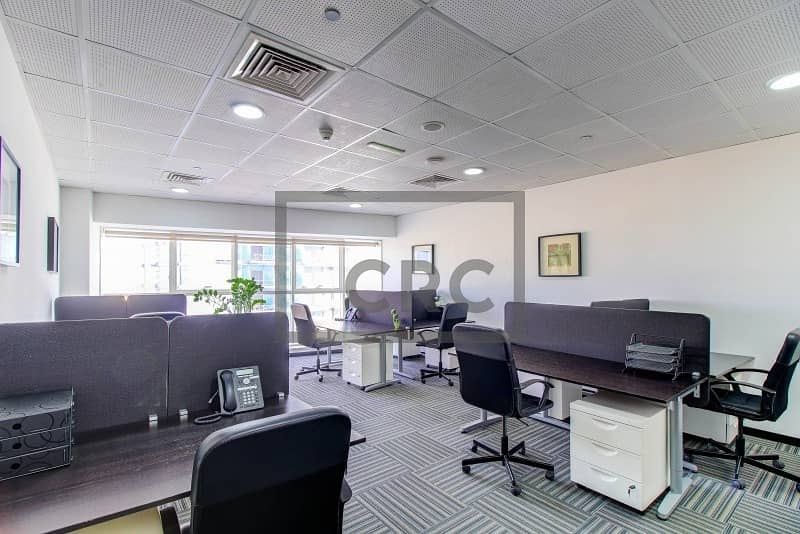 10 Furnished | Serviced Office | Sports City