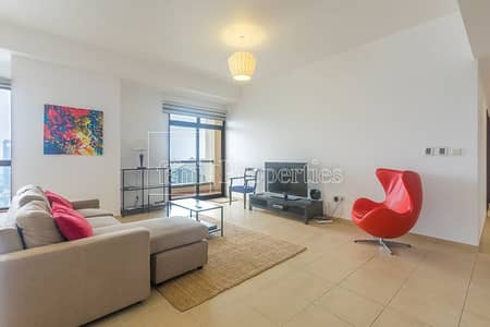 2 Bedroom Apartment for Sale in Jumeirah Beach Residence (JBR), Dubai - Lovely apartment on a high floor with Marina view