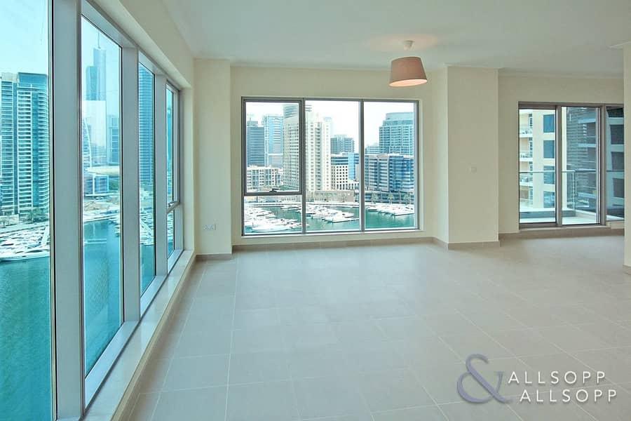 Marina Views | Unfurnished | Best Layout<BR/>