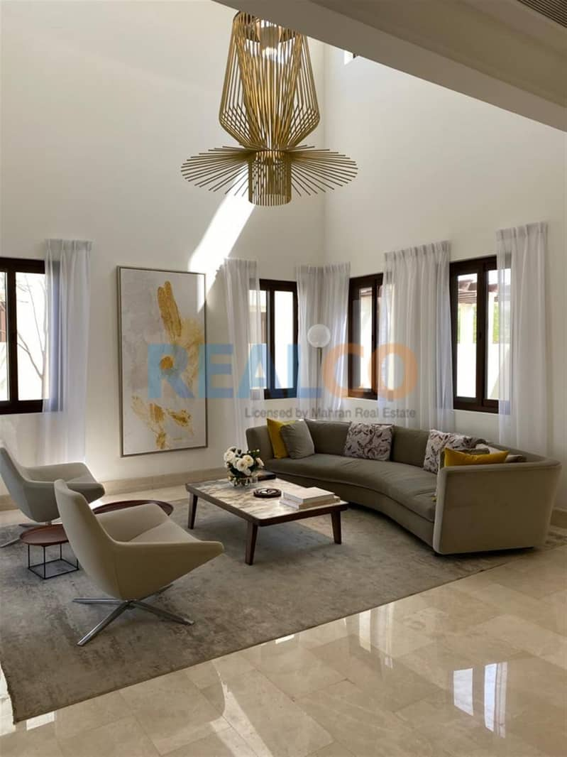 5 Years Post Handover 6bed Golf course view Aseel