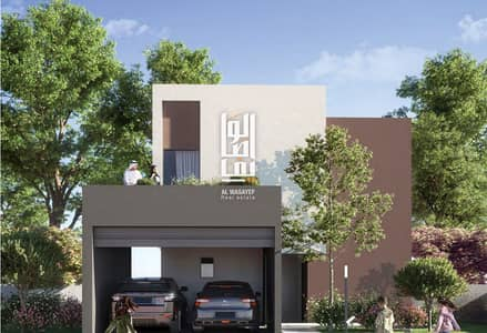 2 Bedroom Townhouse for Sale in Aljada, Sharjah - Modern but affordable Townhouse in Sharjah! 10% DP only ! Zero Agent fee